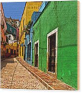 Casa De Lima Wood Print