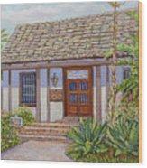 Casa De Miguel Pedrorena Wood Print