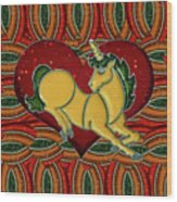 Casablanca Unicorn Dreams Wood Print