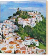 Casares From Laura's View Wood Print