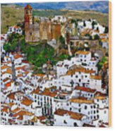 Casares From Signal Hill Wood Print