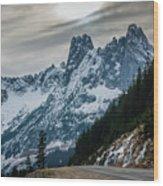 Cascade Beauty Wood Print
