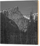 Cascade Canyon Wood Print