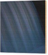 Cascade De Azure Wood Print