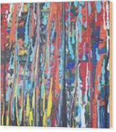 Cascade Wood Print