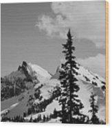 Cascades 1 Wood Print