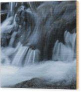 Cascades Cascades Wood Print