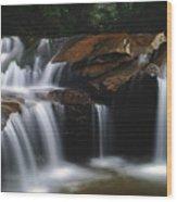 Cascading Dilution  Wood Print