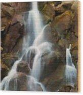 Cascading Falls Wood Print