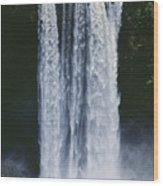 Cascading Waterfall Wood Print