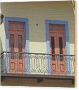 Casco Viejo Panama 11 Wood Print