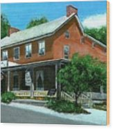 Cashtown Inn Wood Print
