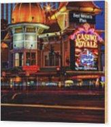 Casino Royale Wood Print