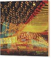 Casino Wood Print