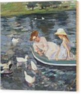 Cassatt: Summertime, 1894 Wood Print
