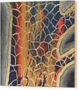 Cassia Fistula Wood Print