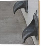 Cast Iron Rain Spouts In Stucco Building Photograph By Colleen Wood Print