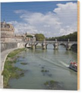 Castel Sant' Angelo Wood Print