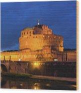 Castel Sant Angelo Wood Print
