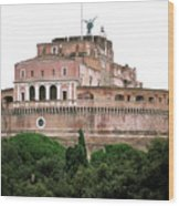 Castel Sant'angelo Wood Print