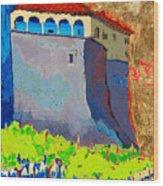 Castello Di Villafranca Wood Print