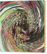 Caster Bean Abstract Wood Print