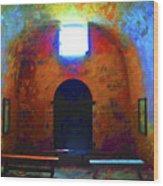 Castillo De San Marcos Chapel Wood Print