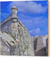 Castillo El Morro Havana Cuba  Wood Print