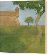 Castillo Tree Wood Print