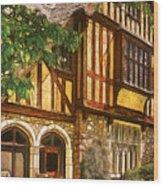 Castle - Castle IIi Wood Print by Mike Savad