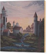 Castle 1 Wood Print