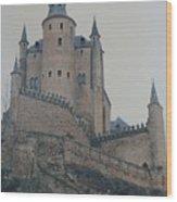 Castle At Segovia Wood Print