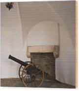 Castle Canon Wood Print