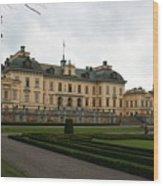 Castle Drottningholm  Wood Print