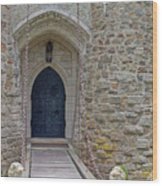 Castle Entrance Wood Print by Suzanne Gaff
