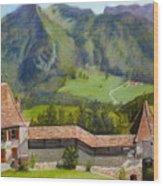 Castle Gruyere Swiss Wood Print