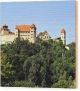 Castle Harburg 3 Wood Print