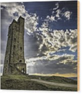 Victoria Tower Castle Hill Huddersfield 1 Wood Print