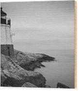Castle Hill Lighthouse Wood Print