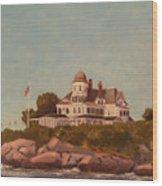 Castle Hill Newport Ri Wood Print
