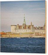 Castle In Helsingor Denmark Wood Print