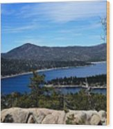 Castle Rock - Big Bear, Ca Wood Print