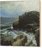 Castle Rock - Marblehead Wood Print