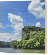 Castle Rock - Pembroke Virginia Wood Print