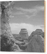Castle Rock Rock Formation Wood Print
