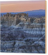 Castle Rock Sunset Wood Print