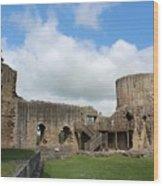 Castle Ruins Wood Print