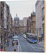 Castle Street - Liverpool Wood Print