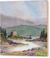 Castle Tioram  Wood Print