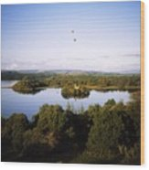 Castleisland Lough Key Forest Park Wood Print